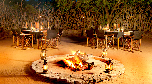 Impodimo Game Lodge - Madikwe Game Reserve - Impodimo Boma Dining