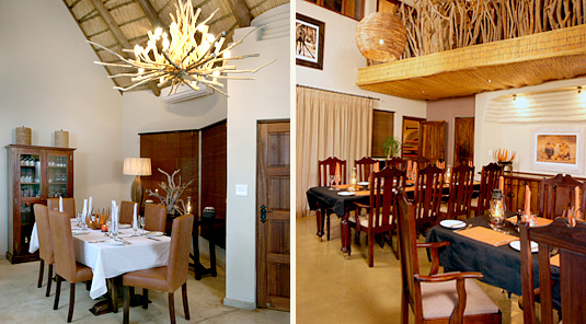Impodimo Game Lodge - Madikwe Game Reserve - Dining Rooms