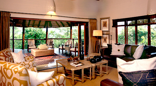 Impodimo Game Lodge - Madikwe Game Reserve - Lounge