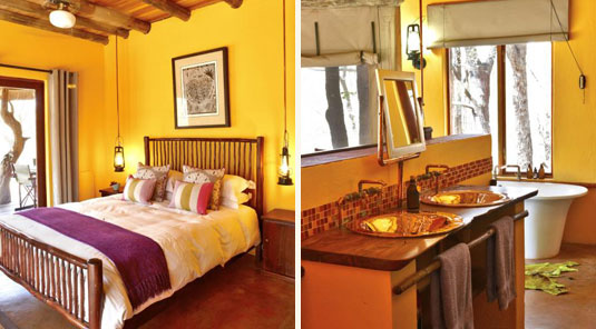 Jaci's Safari Lodge - Madikwe Game Reserve - Safari Suite & Bathroom