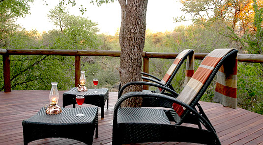 Motswiri Safari Lodge - Villa Deck -  Madikwe Game Reserve