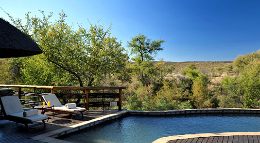 Thakadu River Camp - Swimming Pool - Madikwe Game Reserve