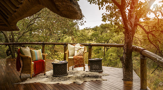Suite Deck - Tuningi Safari Lodge - Madikwe Game Reserve